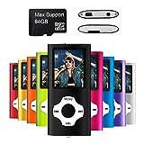 Mymahdi MP3 / MP4 Portable Player, schwarz mit 1,8 Zoll LCD Bildschirm und Micro SDHC...