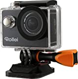Rollei Actioncam 425 - Leistungsstarker WiFi Action-Camcorder mit 4K/2.7K Videoauflösung und Full...