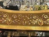 Home Bordüre Medusa Lorbeer gold Band Tapete Medusa Style 5 Meter Rolle NEU TOP