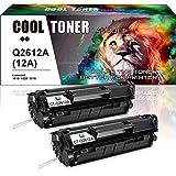 Cool Toner 2 Pack Kompatibel zu Toner HP Q2612A 12A zu Toner HP Laserjet 1020 1018 3055 3030 3050 3052 3015 1022 1010 1018 Toner HP Laser Jet 1022 Toner HP 3055 1022 1010 1015 HP Laserjet Q2612A 12A Druckerpatronen HP Laserjet 1018