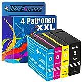 PlatinumSerie® 4x Druckerpatrone XXL kompatibel zu Canon PGI-2500 Maxify MB 5300 Series MB 5350 MB 5400 Series