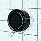 Bluetooth-Duschlautsprecher, Haissky Portable Bluetooth Lautsprecher tragbarer waterproof wireless Speaker Wasserdicht mit Saugnapf ,Freisprecheinrichtung, integriertes Mikrofon