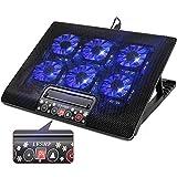 12-17 Zoll Gaming Laptop Kühler, Notebook Ständer mit Kühlfunktion, Tragbare Ultra-Slim 6 leise...