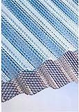 Polycarbonat Lichtplatten Profil 76/18 Sinus (Welle) - Wabe - klar 2,8 mm (Euro 28,90 qm)