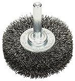 BOSCH Scheibenbürste, Stahl, gewellter Draht, 0,2 mm, 50 mm, 15 mm, 4500 U/min, 2608622111
