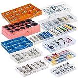 AGT Kleinteilemagazin: Komplett-Set für Heimwerker mit 12 Sortimentskästen, über 3.250 Teile (Sortierkasten)