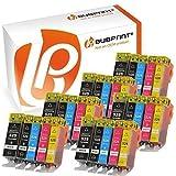 Bubprint 30 Druckerpatronen kompatibel für Canon PGI-525 CLI-526 für Pixma IP4850 IP4950 IX6550 MG5150 MG5250 MG5350 MG6150 MG6250 MG8150 MG8250 MX710