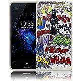 Sony Xperia XZ2 Comic Haha Handy-Hülle Silikon - staubdicht, stoßfest & leicht - Smartphone-Case thematys Sony Xperia XZ2