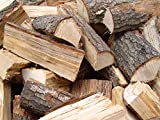 10 Kilogramm KG Premium 25 cm lang getrocknet Kaminholz Brennholz Feuerholz im Karton verpackt, 100% Buchenholz Buche - Set von livindo.pro