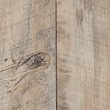 PVC CV Vinyl Bodenbelag Auslegware Holzoptik Landhausdiele Eiche weiß 200, 300 und 400 cm breit, verschiedene Längen, Variante: Muster