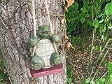Garten Schildkröte Swinging Tier Skulptur Ornament