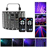 Top-Uking Lichteffekte Disco Lampe Discolicht Partylicht Beleuchtung Partybeleuchtung mit...