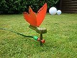 Gartensprinkler - Schmetterling / Sprinkler mit Schlauch-Anschluss Rasensprenger Regner Rasensprinkler