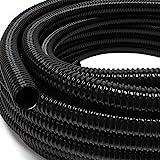 5m Teichschlauch Spiralschlauch 50 mm (2') schwarz