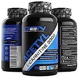 Acetyl L-Carnitin 3000 - 250 Tabletten - 3000 mg Tagesdosierung - Extra Stark - 100% Acetyl L-Carnitine - Stärkste L-Carnitine Form - Vegan - Premium Qualität - German Elite Nutrition