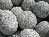 Gletscher Granit Kiesel 20 - 30 cm - Findling Flußkiesel Kies Splitt - LIEFERUNG KOSTENLOS