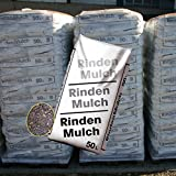 48 Sack mit je 50 Liter = 2400 Liter Rindenmulch mit 0 - 40 mm Körnung