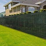casa pura® Zaunblende | Höhe: 180 cm | effektiver Sichtschutz, Windschutz, Sonnenschutz | für Garten, Balkon, Sportplatz, Gelände und Gewächshaus | in vielen Höhen und Längen (1,8m x 10m)