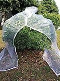 UniEco Schädlingsschutz-Netz Insektennetz mit Reissverschluss 75*150cm
