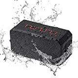 Bluetooth Lautsprecher Wasserdicht, IP67 Bluetooth Speaker Outdoor Badezimmer Lautsprecher für handy, mit 10W 3000mAh Powerbank & AUX USB TF & Mikrofon