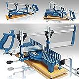 Gehrungssäge 550mm Winkelsäge Fliesensäge Säge Handsäge Kappsäge Feinsäge Tischsäge +/- 22,5° bis +/- 90° verstellbar