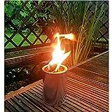 Partyfeuer - Gartenfackel 10 Std. Brennzeit als Feuerschale auch zum Anzünden von Fackeln