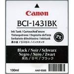 Canon Imageprograf W 6400 DYE - Original Canon / 8963A001 / BCI-1431BK / Imageprograf6200 / Tinte Black -