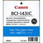 Canon Imageprograf W 6400 P - Original Canon 8970A001 / BCI-1431C / Imageprograf6200 Cyan Tinte -