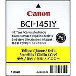 Canon Imageprograf W 6400 DYE - Original Canon / 0173B001 / BCI-1451Y / Imageprograf6400 / Tinte Yellow - 130 ml
