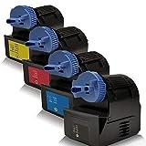 4x kompatible Tonerkartuschen für Canon IR-C3080 IR-C3080i IR-C3380 IR-C3380i IR-C3480 IR-C3480i IR-C3580 IR-C3580i IR-C3580Ne C-EXV21 CEXV21 CEXV 21 0452B00 0453B00 0454B00 0455B00 - Sparset - Set