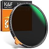 K&F Concept Nano-X II 52mm ND Filter Variabler Graufilter ND2-400 (1-8.6 Stop) Vario ND Filter mit Filtertasche