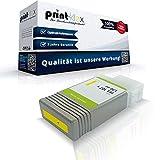 Print-Klex Tintenpatrone kompatibel für Canon imagePROGRAF IPF 670 IPF 670MFP L 24 6708B001 PFI-107Y PFI 107 Y PFI107Y Yellow Gelb - Color Office Serie