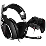 ASTRO Gaming A40 TR Gaming-Headset, MixAmp M80 Adapter, 4. Generation, 7.1 Dolby Surround Sound,...