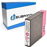 Bubprint Kompatibel Druckerpatrone als Ersatz für Canon PGI-2500XL PGI 2500 XL für Maxify MB5050 MB5100 MB5150 MB5155 MB5300 MB5350 MB5400 MB5450 MB5455 Magenta