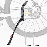 ARPDJK Fahrradständer, Höhenverstellbarer Legierung Fahradstaender für 24-29 Zoll Raddurchmesser, Fahrrad Seitenständer für Mountainbike, Rennrad, Erwachsenenrad, Klapprad