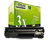 3X MWT Toner für Canon Imageclass MF 211 216 n ersetzt 737 9435B002 Black
