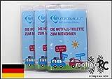 molinoRC 3X Notfall-Toilette   Wegwerf-Toilette   Urinal   Reisetoilette   Minimus Notfall-WC   Kinder Buben Mädchen Erwachsene