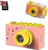 ShinePick Fotoapparat Kinder, Wasserdicht / 8MP / HD 1080P / 2 Inch Bildschirm / Foto & Video /...