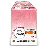 Camelia Maxi Binden Lang, Selbstklebend, 5 x 20 Stück