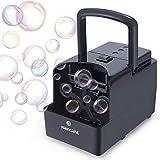PANACARE Tragbare Automatischer Seifenblasenmaschine, Professional Blasenmaschine 1500+ Blasen pro...