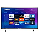 MEDION X14351 108 cm (43 Zoll) UHD Fernseher (Smart-TV, 4K Ultra HD, HDR 10, Micro Dimming, Netflix,...