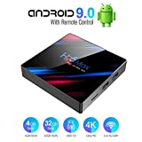 Byttron Android 9.0 TV Box Smart Media Box 4GB RAM 32GB ROM RK3318 Quad Core Bluetooth 4.2 WiFi 2.4G...
