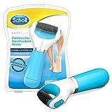 Scholl Expert Care, Hornhaut Entfernung für seidig weiche Füße, elektrischer Hornhautentferner schnell & Mühelos (mit Meeresmineralien Rolle für präzise Ergebnisse, 1 Gerät inkl. Rolle)