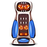 ZHANGTAOLF Rückenmassagegerät mit Wärme -Deep-Gewebeknetungsmassagekissen, Massage-Sessel-Pad für volle Rückenschmerzlinderung, für Home/Büro