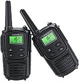 Walkie Talkie für Erwachsene, Handheld PMR 446 Walky Talky Outdoor VOX Funkgeräte Set, 8 Kanäle...
