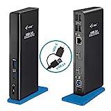 i-tec USB 3.0/USB-C Dual Docking Station für Tablets und Notebooks – 2X HDMI Full HD+, 4X USB...