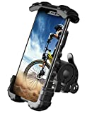 Lamicall Handyhalterung Fahrrad, Handyhalter Motorrad - Universal 360 Drehung Outdoor Fahrrad Halter für iPhone 13 Pro, 12 Pro Max Mini, 11 Pro Max, Xs Max, XR, X, 8, 7, 6S, Samsung S10 S9, Smartphone