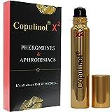 COPULINOL X2 100% Pheromon für Frauen 8ml Roll-On Menschliche Pheromone Geschenk für sie anziehen Männer Aphrodisiaka Moleküle extra stark