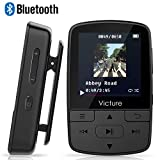 Victure Bluetooth MP3 Player 8GB Mini Sport Musik Player mit Clip, 30 Stunden Wiedergabe Musikplayer...