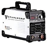 STAHLWERK ARC 200 ST IGBT - Schweißgerät DC MMA/E-Hand Welder mit echten 200 Ampere sehr kompakt, weiß, 7 Jahre Herstellergarantie*